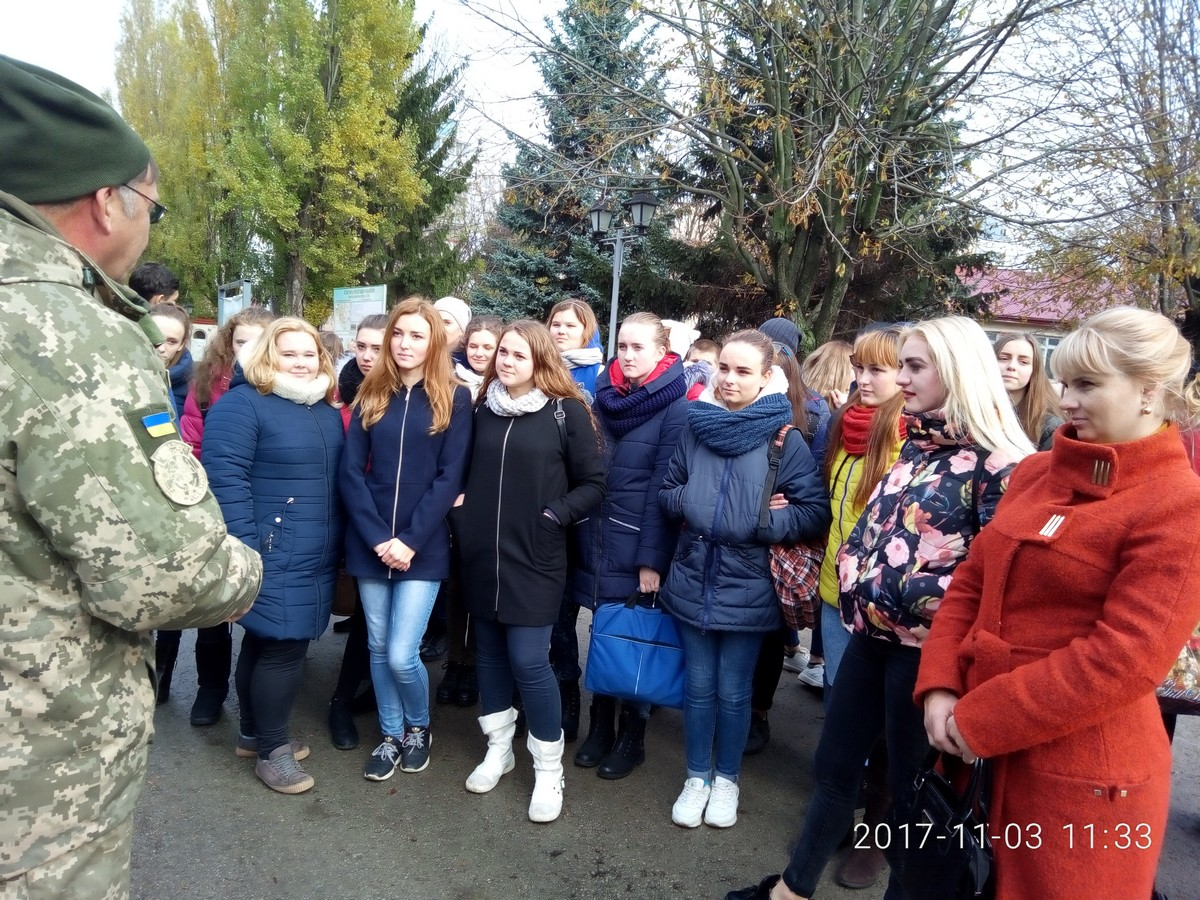 Excursion to the military part of A2641